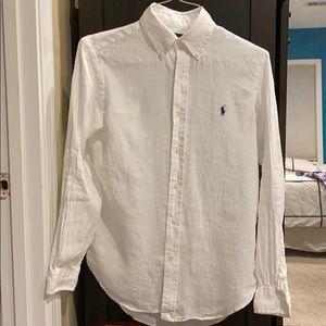 Linen Ralph Lauren Button Up